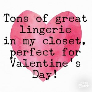 Get ready now for Valentine's Day !!!